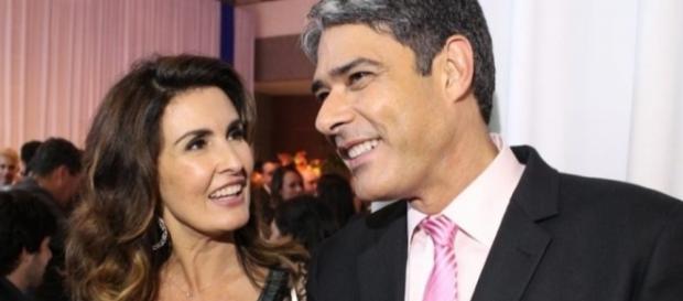 Colega de trabalho de Willian, pode ter deixado Fátima desconfiada do apresentador.