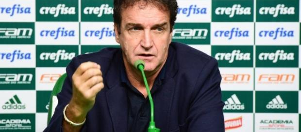Cuca, atual técnico do Palmeiras