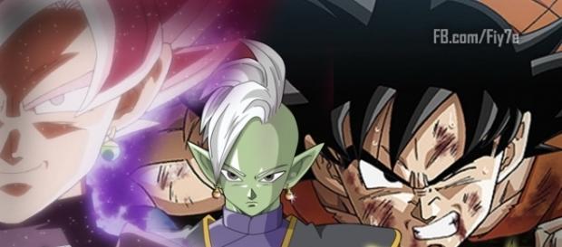 Dragon Ball S: Black y Zamasu matan a Goku