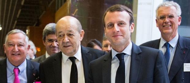 Emmanuel Macron - plan école Polytechnique - CC BY