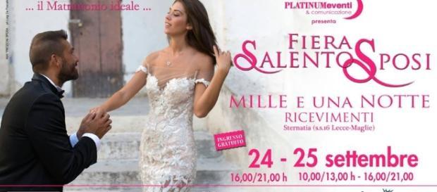 Il 18 settembre e il 24-25 settembre i nuovi appuntamenti con Fiera Salento Sposi