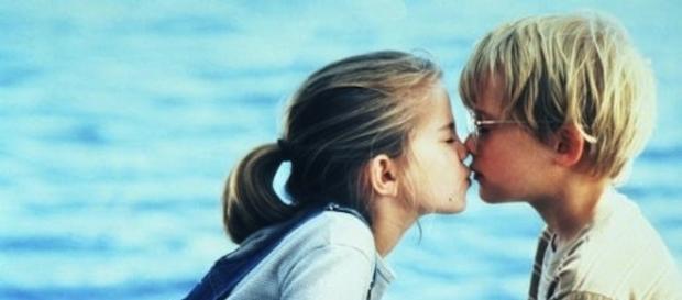"""Imágen de la pelicula """"Mi primer beso"""", de Howard Zieff"""