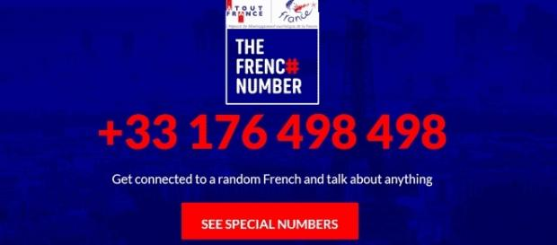 Le site The French Number de l'agence Atout France (montage Jef T.)