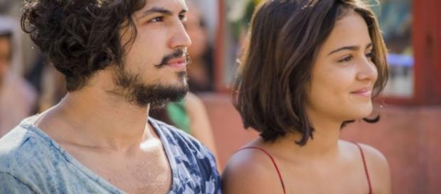 Olívia fica grávida de Miguel em 'Velho Chico'.
