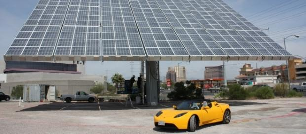 Tesla has big plans for solar and battery storage. Photo via wikipedia.org.