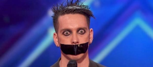 This guy called 'Tape Face' did an 'America's Got Talent' audition ... - someecards.com