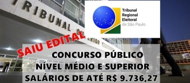 TRE-SP abre concurso público para nível médio e superior