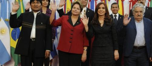 Algunos mandatarios latinoamericanos