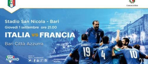 Amichevole Italia-Francia Bari: data, orario inizio, diretta tv e formazioni