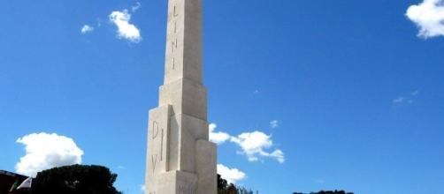 L'Obelisco di Mussolini a Foro Italico, Roma