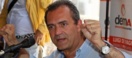 Luigi De Magistris, sindaco di Napoli (foto Lineapress.it)