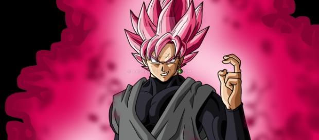 GOKU BLACK ROSE DRAGON BALL SUPER