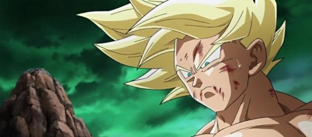 Goku en las escenas añadidas a la pelicula