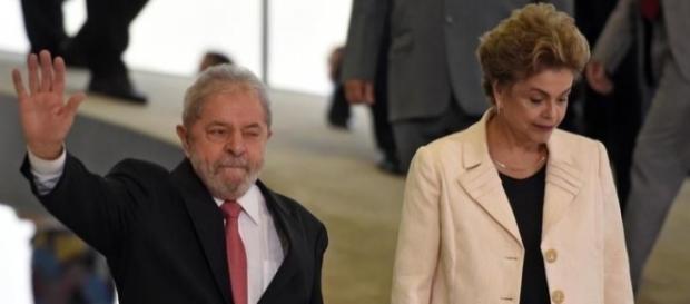 Lula e Dilma Rousseff (Foto: Reprodução)