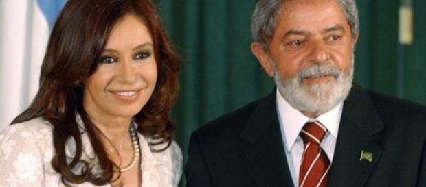 Lula envia carta a Cristina Kirchner