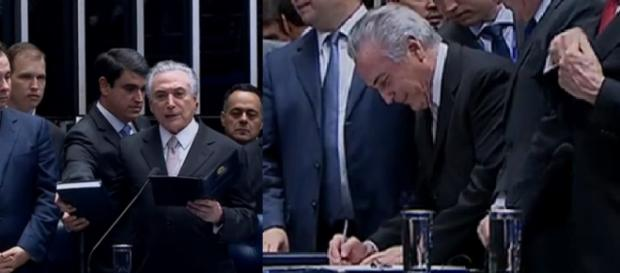 Michel Temer é o novo presidente do Brasil