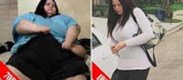 'My 600-lb Life' Christina Phillips weight loss gains shame, anxiety. Source: YouTube still