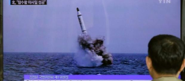 Photo of Missile launch from image via blastingnews.com pd library