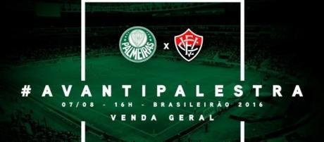 Palmeiras x Vitória pode definir o novo líder do Brasileirão