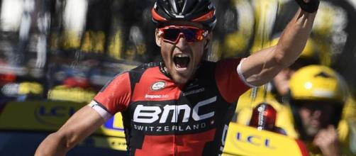 Greg Van Avermaet in yellow after stage five glory - Tour de ... - eurosport.com