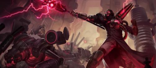 Viktor, campeón de League of Legends.