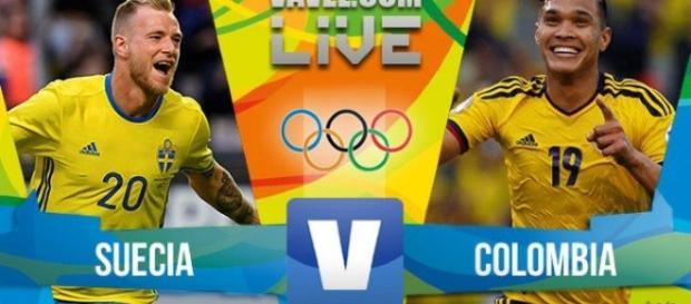 Colombia Vs Suecia Partido De Grandes Emociones.