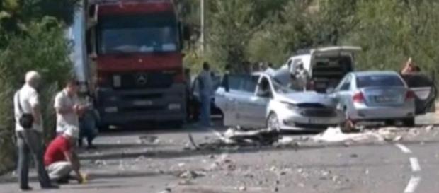 Doi români au murit într-un accident produs în Bulgaria