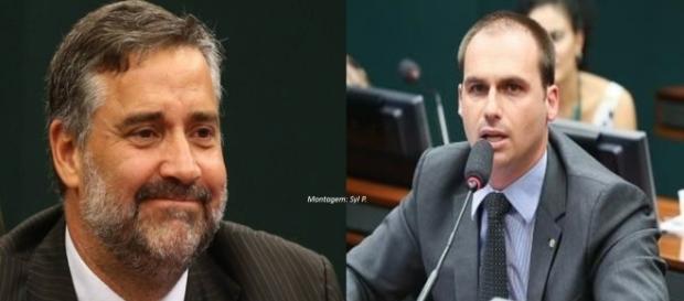 Eduardo rebateu críticas de Paulo Pimenta