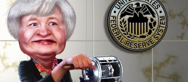 Flickr depiction of Fed Chair Janet Yellen