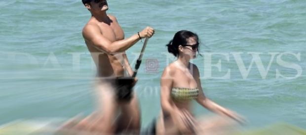 Orlando Bloom não se importou de ficar completamente nu, com Katy