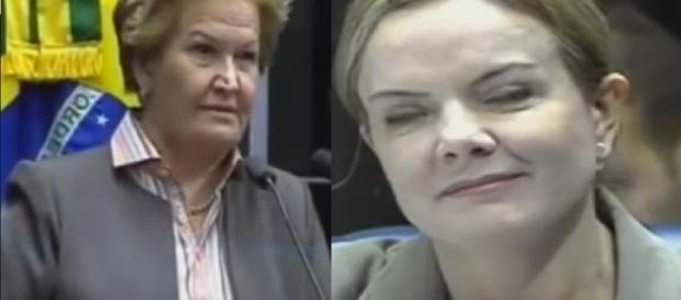 Senadora expõe toda verdade contra o PT