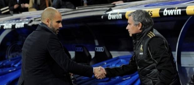 #Football : Guardiola vs Mourinho, rivalité apaisée ? Pas sûr…- eurosport.fr