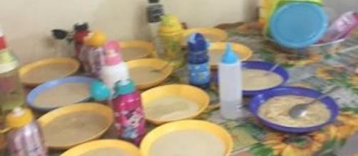 Asilo nido abusivo: ecco come si preparavano i pasti
