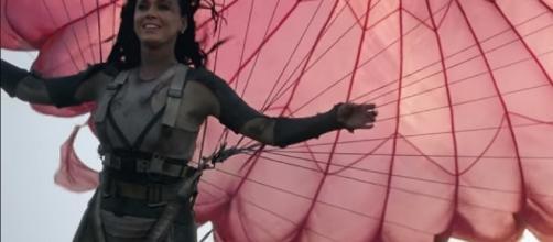 "Katy Perry nel nuovo videoclip ""Rise"""