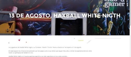 Los jugadores de HaxBall White Night se presentarán en Tecnópolis Argentina, el próximo 13 de Agosto.