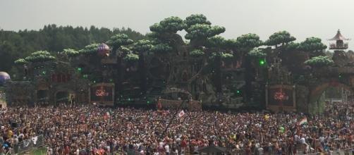 Mainstage de Tomorrowland 2016