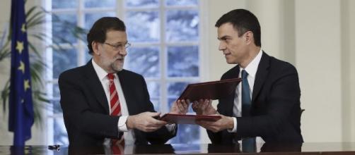 Rajoy y Sánchez se hacen la foto en Moncloa pese a los recelos del ... - libertaddigital.com