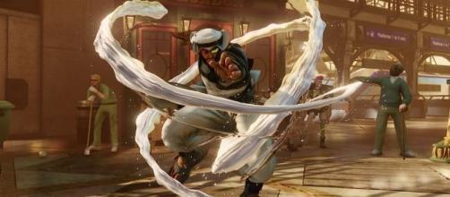 Una muestra de los personajes tan detallados que Street Fighter ofrece