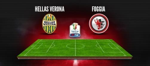 Verona e Foggia si affronteranno nel Secondo Turno di Tim Cup. Calcio d'inizio al Bentegodi alle ore 21:00