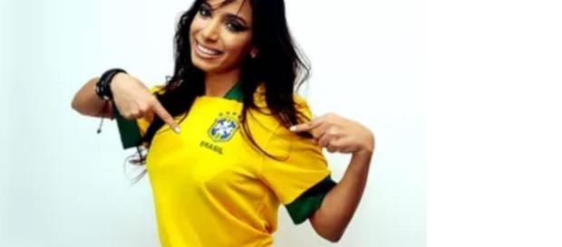 Anitta na Olimpíada é a polêmica do dia
