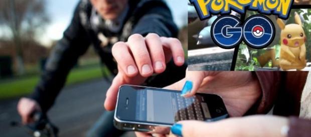 Assaltantes fazem a festa com Pokémon