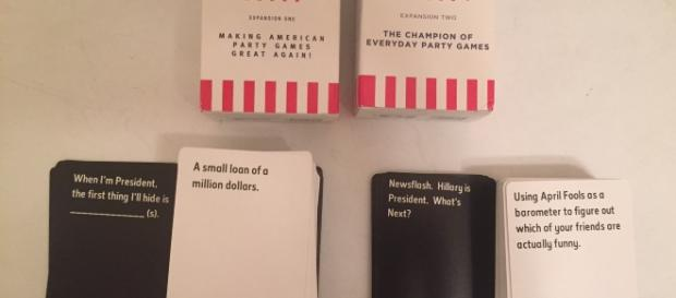 These card decks by SCS Direct aim to make players laugh out loud. / Photo via Meagan J. Meehan, Blasting News. Used with permission.
