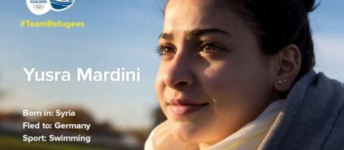 Yusra Mardini, la nuotatrice siriana che partecipa alle Olimpiadi 2016 nella Squadra dei rifugiati