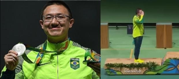 Felipe Wu é medalha de prata na Olimpíada