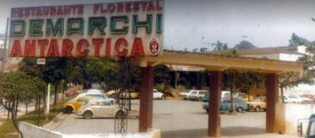 Foto relembra o auge do restaurante Florestal (Arquivo: PMSBC)
