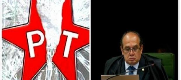 Gilmar Mendes se irrita e decide acabar com o PT