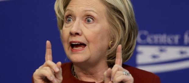 Hillary Clinton Short Circuits.... a new political term? Photo: Blasting News Library- progressivestoday.com