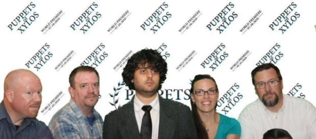 James Billian (center) debuted 'Puppets of Xylos,' a Doctor Who fan film