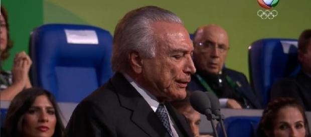 Michel Temer é vaiado no Maracanã