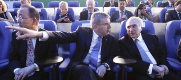 Presidente da república não quis ser anunciado (Foto: O Globo)